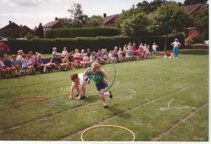 Sports day 1990